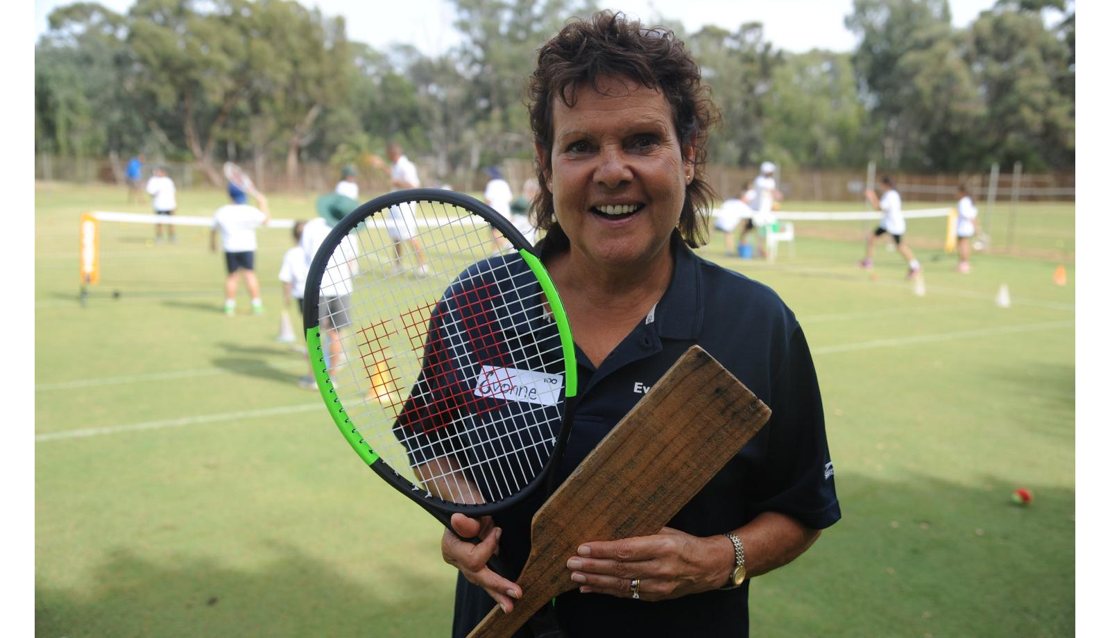 Tennis great s life serves as inspiration to new generation